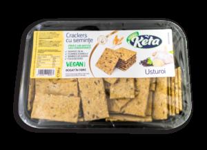 Keta crackers cu Usturoi