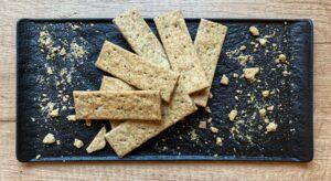 Keta crackers cu ierburi de provence
